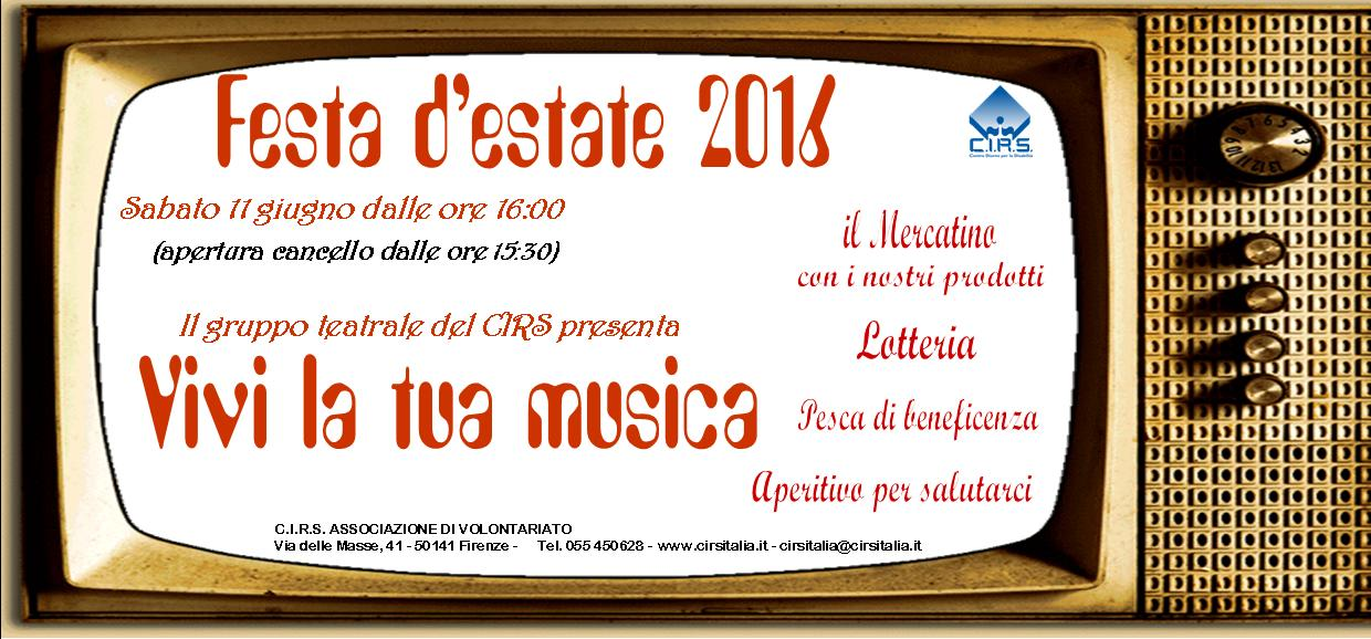 INVITO festa ESTATE 2016 ok